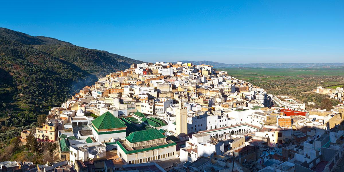 pueblos-bonitos-Moulay-Idriss